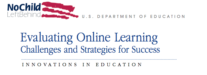 Online Learning Report